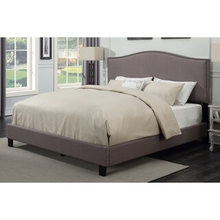 Sheffield Taupe Upholstered Bed by Greyson Living (3 options available)