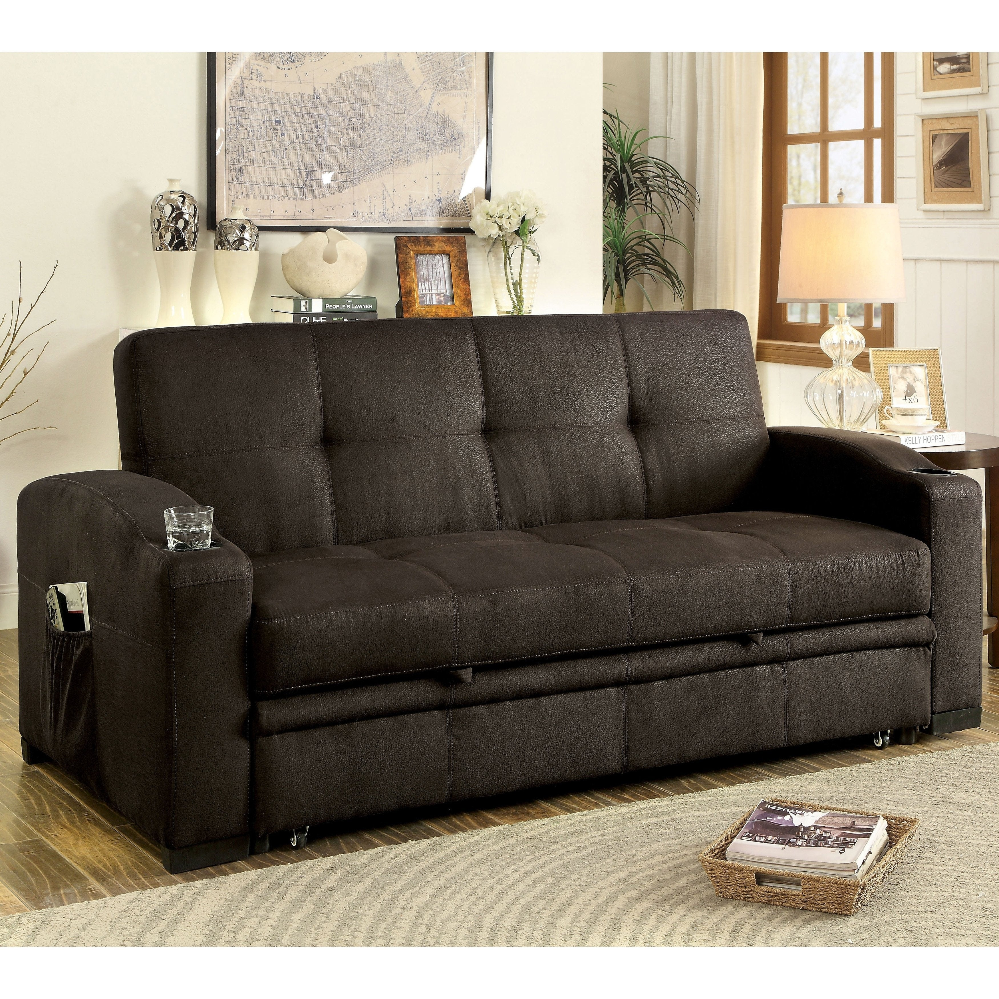 Furniture of America Melani Contemporary Tufted Multi-fun...