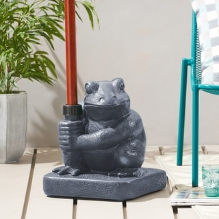 Neptune Outdoor 55-pound Frog Umbrella Base Holder by Christopher Knight Home