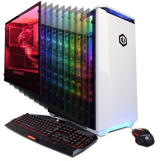 CYBERPOWERPC Gamer Supreme Liquid Cool SLC9900 w/ AMD Ryzen 7 1800X 3.6GHz Gaming Computer