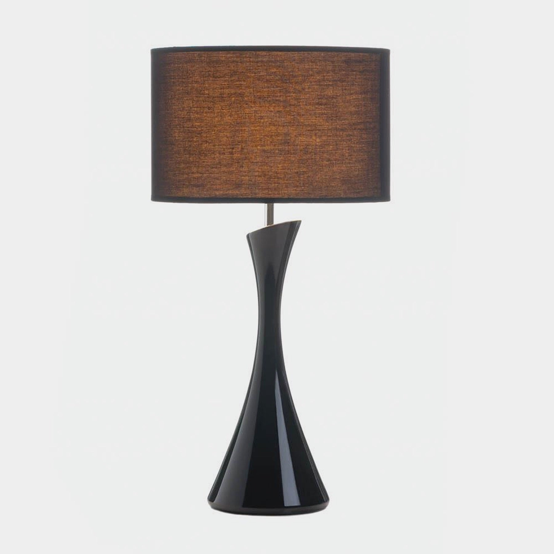 Verdigo Unique Black Slender Table Lamp (Ceramic)