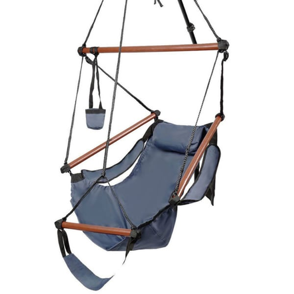 Well-equipped S Hook High Strength Cacolet Blue Hanging Seat 24299282