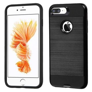 Insten Hard Snap-on Dual Layer Hybrid Case Cover For Apple iPhone 7 Plus