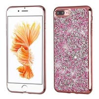 Insten Hard Snap-on Rhinestone Bling Case Cover For Apple iPhone 7 Plus