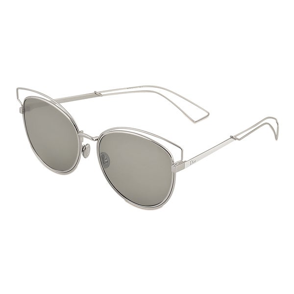 b6bd78941ab2 Shop Dior Dior Sideral 2 S JB0 SF Palladium White Metal Round Sunglasses  Black Mirror Lens - On Sale - Free Shipping Today - Overstock - 14573722