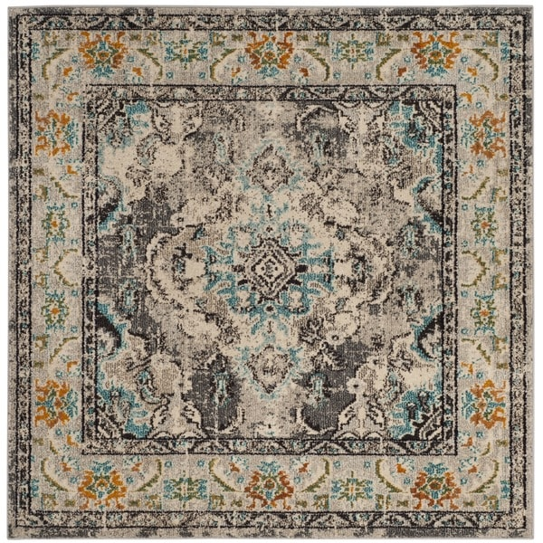 Shop Safavieh Monaco Bohemian Medallion Grey Light Blue