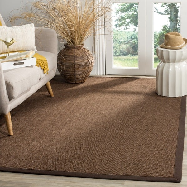 Safavieh Natural Fiber Sisal Brown Area Rug (6' Square)