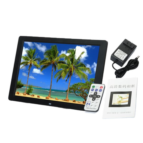 15-inch Widescreen LED 1280 x 800 HD Digital Photo Frame Black (US ...