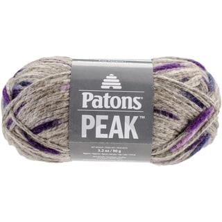 Patons Peak Yarn-Eggplant
