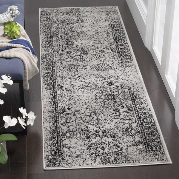"Safavieh Adirondack Vintage Oriental Grey / Black Runner (2'6 x 6') - 2'6"" x 6'"