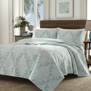 Tommy Bahama Pineapple Cape Harbour 3-piece Cotton Quilt Set