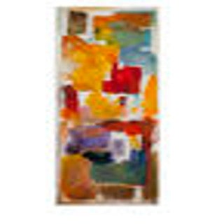 Bassett Mirror 'Colorful Blocks' Canvas Art