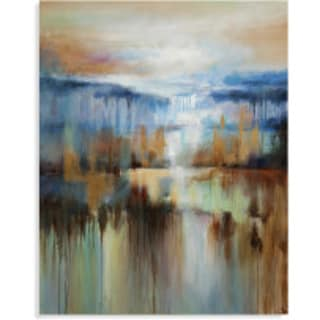 Bassett Mirror 'Afternoon at the Lake' Canvas Wall Art