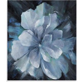 Bassett Mirror Company 'Beauty in Blue' Canvas