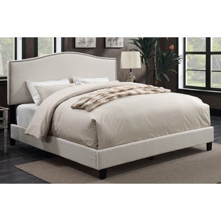 Sheffield Ivory Upholstered Bed by Greyson Living