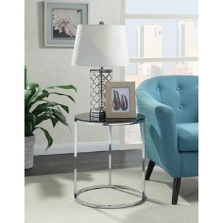 Convenience Concepts Royal Crest Round End Table