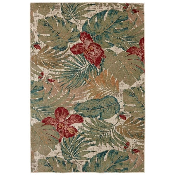 Mohawk Home Destinations Clearwater Area Rug (5'3 x 7'10) - 5'3 x 7'10