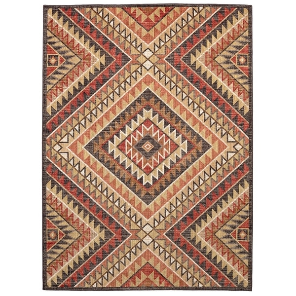 Mohawk Home Destinations South Pass Area Rug (5'3 x 7'10) - 5'3 x 7'10