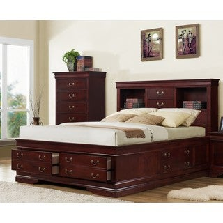 Lyke Home Brown Storage Bed