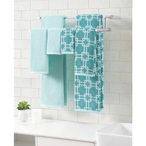 Clairebella Links Printed 6-piece Towel Set