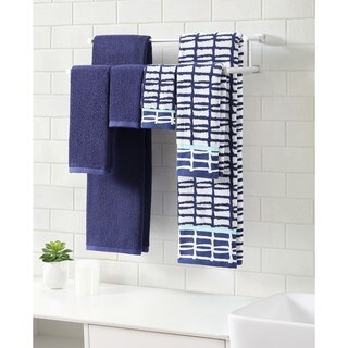 Clairebella Cubish Printed 6-piece Bath Towel Set