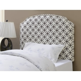 Shelby Orbit Twin-Size Upholstered Headboard by Greyson Living