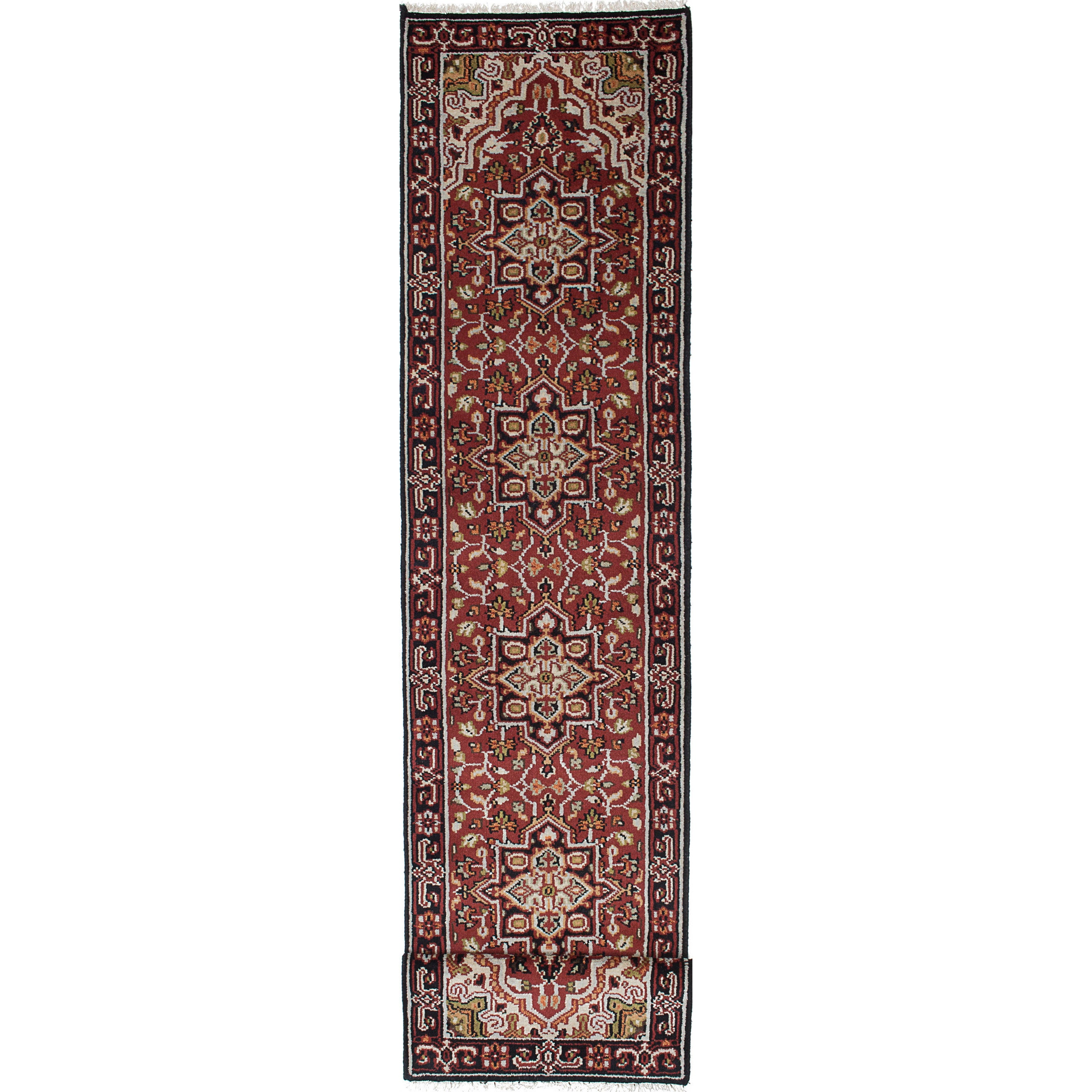 Ecarpetgallery Hand-knotted Royal Heriz Red Wool Rug (2'5...
