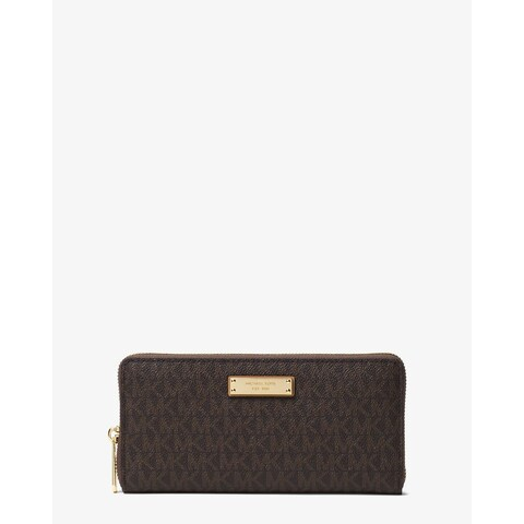 Michael Kors Jet Set Brown Continental Wallet