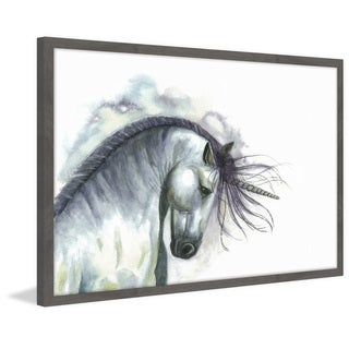 'Triumphant Unicorn' Framed Painting Print