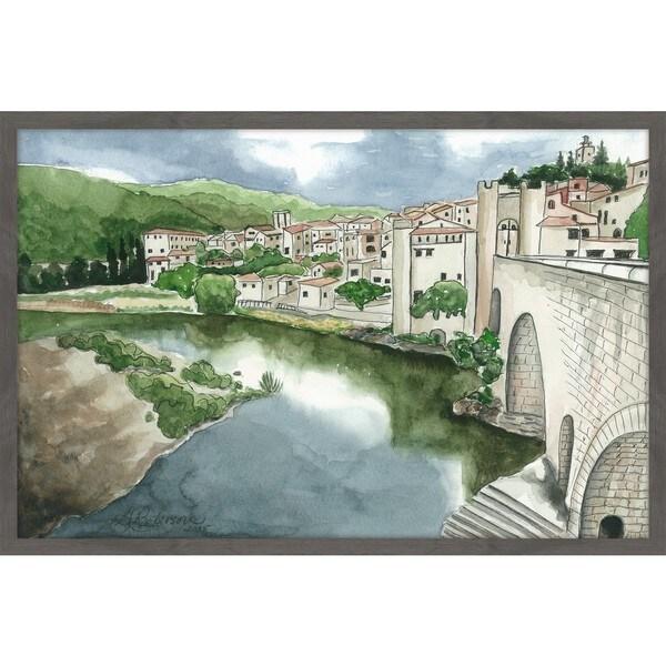 'La Citta Vecchia' Framed Painting Print