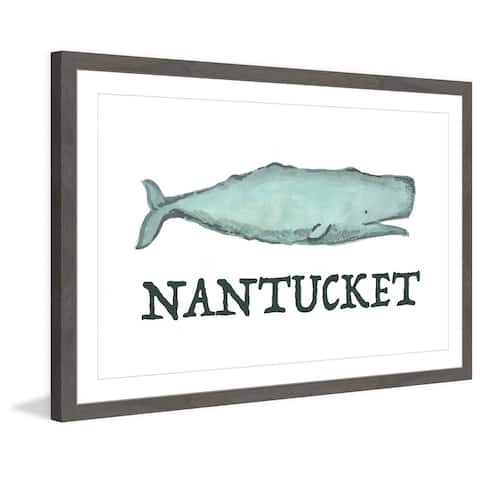 Marmont Hill - Handmade Long Live Nantucket Framed Print