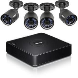TRENDnet 4-Channel HD CCTV DVR Surveillance Kit