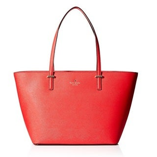 Kate Spade Cedar Street Small Harmony Rooster Red Tote Bag