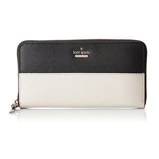 Kate Spade Cameron Street Black/Pebble Lacey Wallet