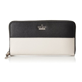 Kate Spade Cameron Street Black/Pebble Lacey Wallet|https://ak1.ostkcdn.com/images/products/14574763/P21122261.jpg?impolicy=medium
