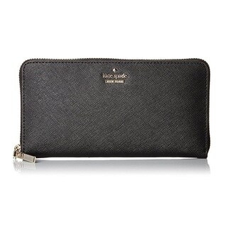 Kate Spade Cameron Street Black Lacey Wallet