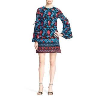 Tanya Taylor Women's Irene Floral Embroidered Dress