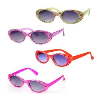 Pop Fashionwear Children's K101 Cat-eye Style Sunglasses