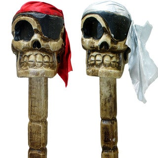 Fair Trade Hand Crafted Skull Cane (Indonesia)