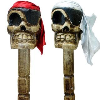 Handmade Skull Cane (Indonesia)