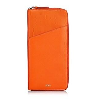 TUMI Prism Travel Sunrise Orange Wallet
