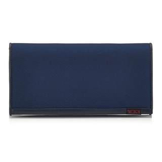 Tumi Ballistic Nylon Blue Credit Card Case