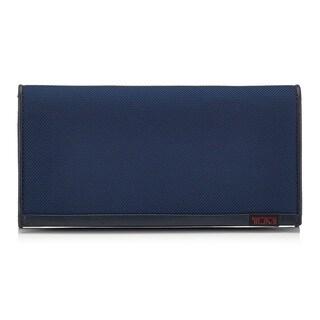 Tumi Ballistic Nylon Blue Credit Card Case