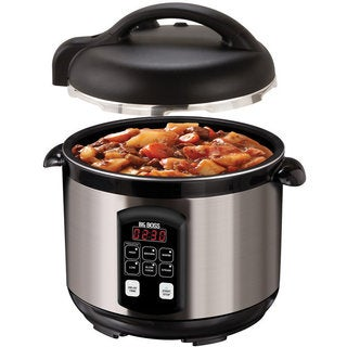 Big Boss 5-quart Stainless Steel Electric Pressure Cooker
