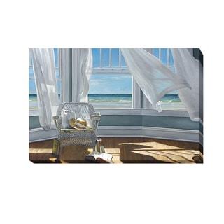Karen Hollingsworth 'Gentle Reader' Gallery Wrapped Canvas Giclee Art