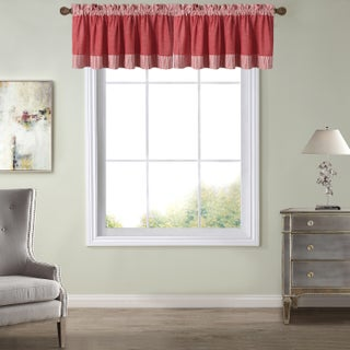 Amherst Country-style Cotton Kitchen Tier Valances