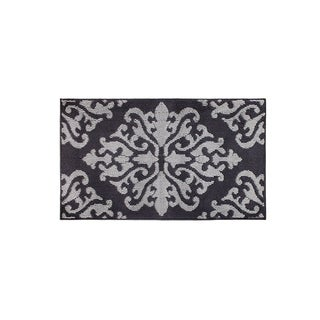 Jean Pierre Cole Grey Loop Accent Rug - (24 x 60 in.)