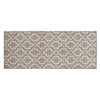 Jean Pierre Dashi Grey/Berber Loop Accent Rug - (24 x 60 in.)