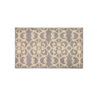 Jean Pierre Gabe Grey/Berber Loop Accent Rug - (24 x 40 in.)