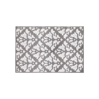 Jean Pierre Mira Grey/Soft White Loop Accent Rug - (28 x 48 in.)